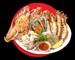 รายการอาหารทะเล